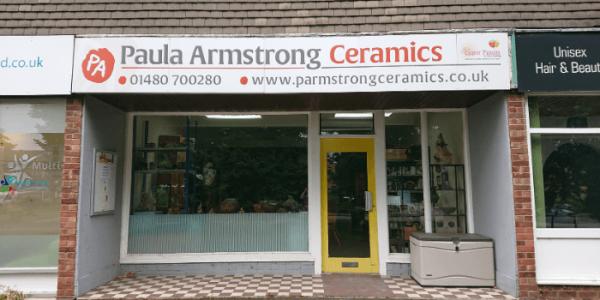 Paula Armstrong Ceramics studio