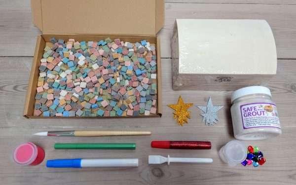 Mosaic treasure chest pack
