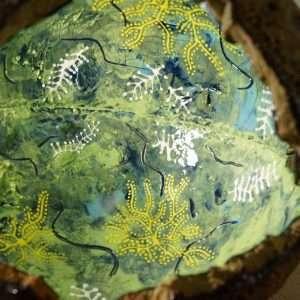 slip decorated vessels