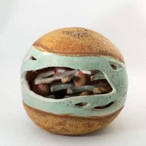 Organic ceramic sculpture